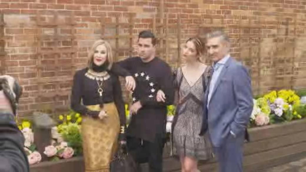 Click to play video '2020 Emmy Awards full of 'Schitt's Creek''