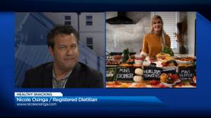 Global News Morning chats with Registered Dietitian Nicole Osinga (04:12)
