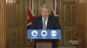 British PM says EU not willing to consider a Canada-style trade agreement with U.K. as Brexit talks 'are over' (01:41)