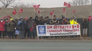 Oshawa GM assembly plant to reopen, build trucks (02:44)