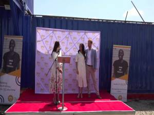 Prince Harry, Meghan give speech during last day in Africa