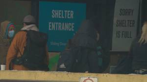 Edmonton homeless shelters prepare for a big increase in visitors (01:45)