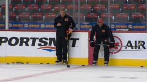 Rookies take part in 2019 Calgary Flames prospects' training camp