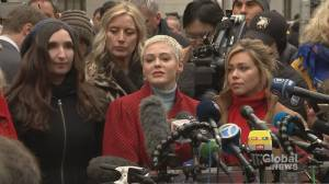 'They're victory would be our victory': Rose McGowan commends bravery of Weinstein accusers