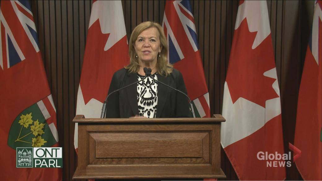 Click to play video 'Ontario may not get coronavirus vaccine in early 2021: Health minister'