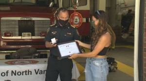 Heroes honoured for life-saving efforts in North Vancouver (01:50)