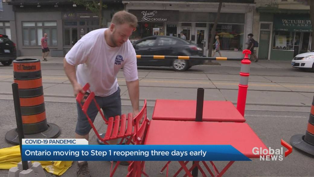 Click to play video: 'Ontario beginning to ease COVID-19 restrictions Friday'