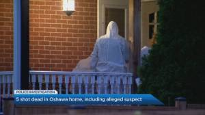 5 people found dead, 1 woman wounded after shooting in Oshawa home
