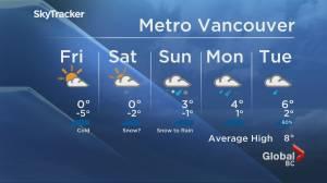 B.C. evening weather forecast: Feb 11 (01:57)