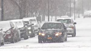 Parts of U.S. slow down as winter storm brings snow and ice
