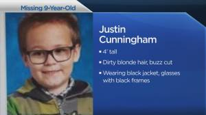 Calgary police asking for public's help finding missing 9-year-old