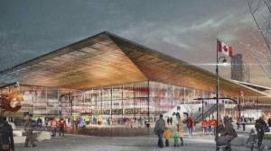 Work on new Calgary arena paused amid concerns over cost estimate, program requirements (02:22)