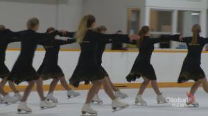Calgary synchronized skating clubs prepare for national championships at home