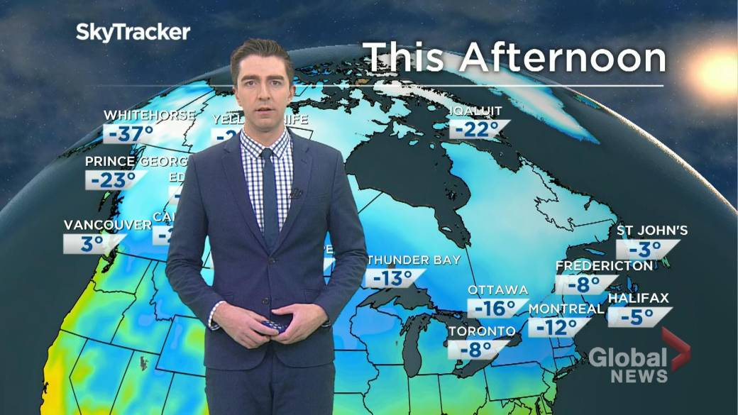 Extreme cold warning issued across southern portion of Saskatchewan