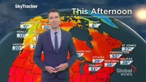 Saskatchewan weather outlook: August 10