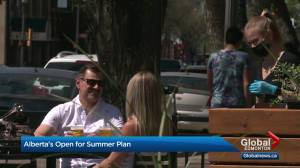 Alberta's three-stage summer reopening plan unveiled by Premier Kenney (02:57)