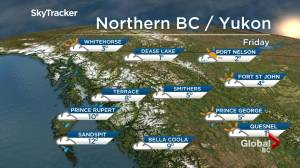 B.C. evening weather forecast: Oct 31
