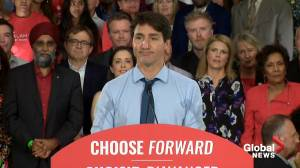 Federal Election 2019: Trudeau speaks to supporters in first rally as Liberal leader