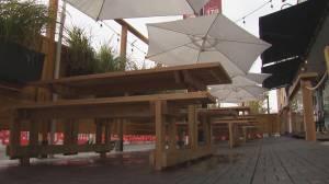 Pulling plug on patio season: Calgary restaurants prepare for tougher times (02:07)