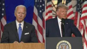 Trump and Biden campaigns butt heads over U.S. unrest