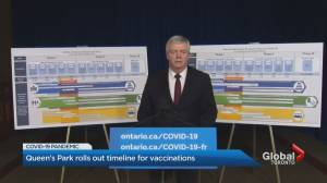 Ontario to launch COVID-19 vaccine appointment portal on March 15 (02:57)