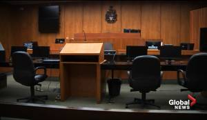 Alberta Law Courts slowly reopening with restrictions