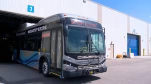 Saskatoon electric bus pilot project