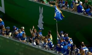Winnipeg Blue Bombers and their fans get ready for big game against Saskatchewan (01:20)