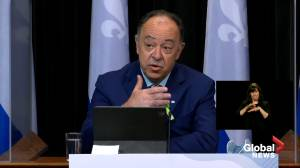 Quebec expands COVID-19 vaccination to those with chronic illnesses, disabilities (02:48)