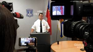 Criminal charges sought against three Halifax police officers: chief