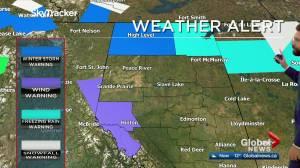 Edmonton afternoon weather forecast: Monday, November 2, 2020 (03:27)