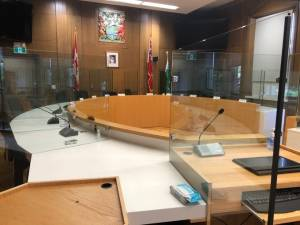 Peterborough city council meeting in person once again