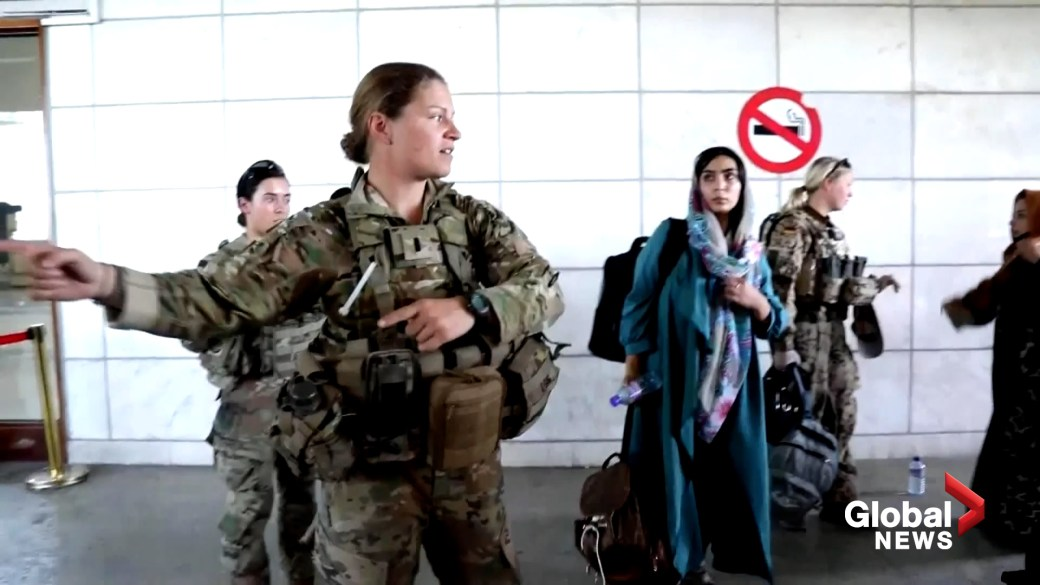 Click to play video: 'Afghanistan crisis: Afghans fear civil war will erupt if allies don't intervene'