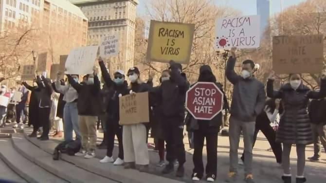 Click to play video: Atlanta shootings put spotlight back on surge in B.C. anti-Asian racism