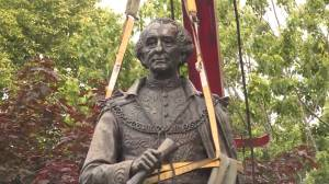 Fate of Macdonald statue at Kingston's Cataraqui Cemetery could take a while (01:15)
