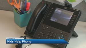 Calls to Kids Help Phone increases amid COVID-19 pandemic (04:58)