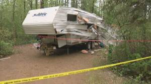 4 kids, 2 adults in hospital after trailer explosion at Slave Lake campground