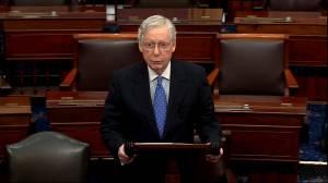 Mitch McConnell decries 'partisan rage' following impeachment vote
