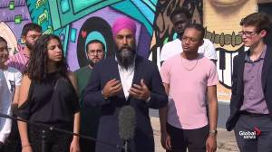 Federal Election 2019: Jagmeet Singh says racist makeup controversy 'not about Trudeau'