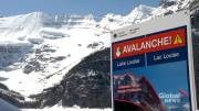 Play video: One skier dead after avalanche near Lake Louise
