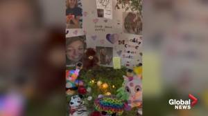 Vigil held for Gabby Petito after body found during investigation into her disappearance (05:46)