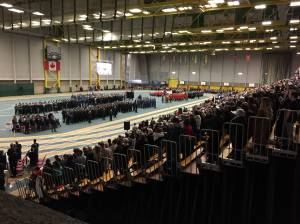Edmontonians pay respects at Remembrance Day ceremonies