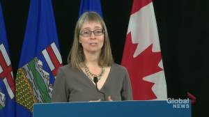 COVID-19 cases may increase through autumn, winter if Albertans don't follow safety measures: Hinshaw (02:09)