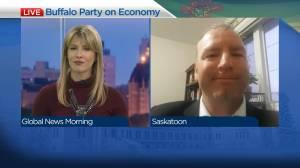 Buffalo Party of Saskatchewan on plans for economy
