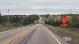 Moncton-area detour removed