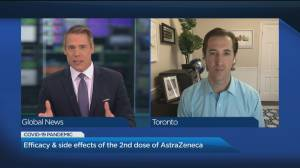 What you should know about getting a second AstraZeneca shot (06:04)