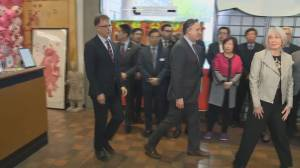 Federal health minister travels to Vancouver to talk COVID-19 coronavirus (01:53)