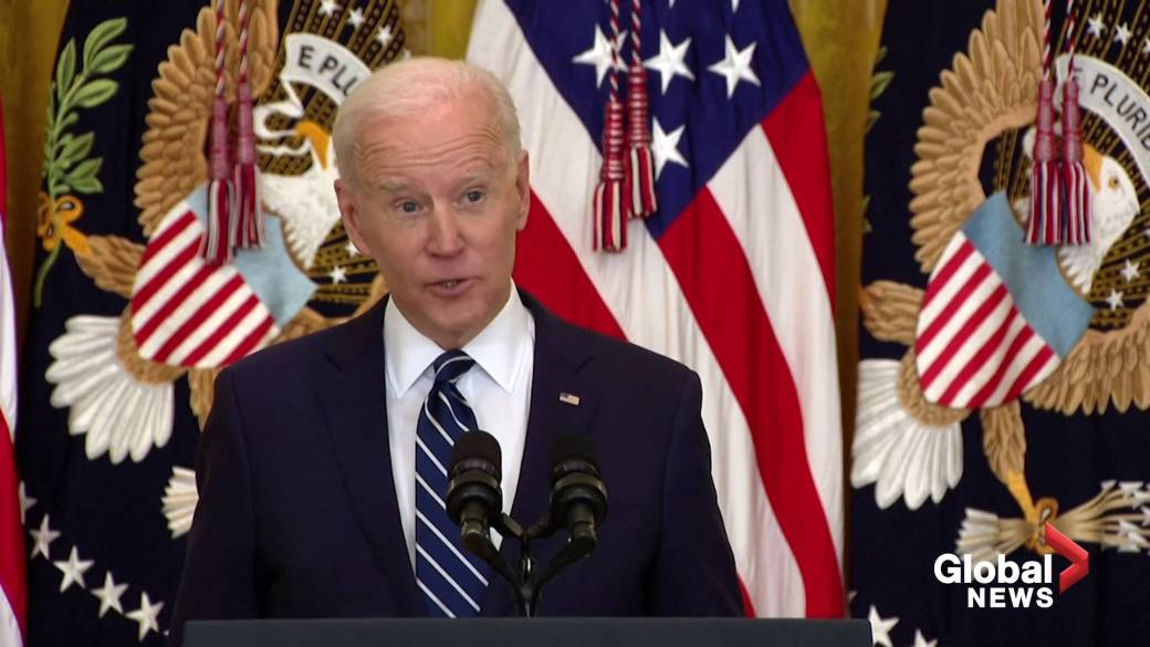 Click to play video: 'China's Xi doesn't have a 'democratic bone' in his body: Biden'