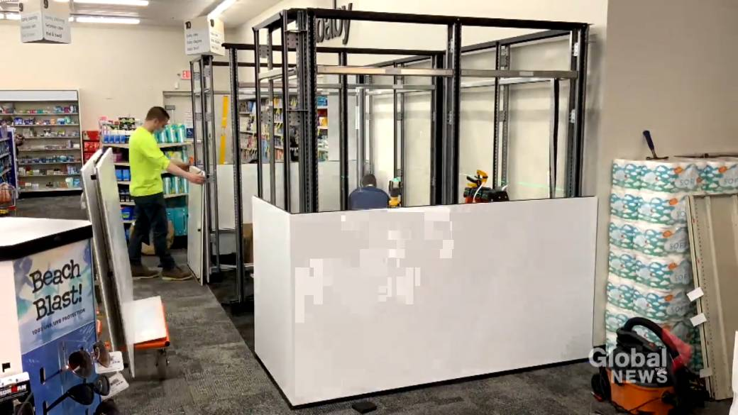 Click to play video 'COVID-19: Calgary company builds ICUs, vaccination pods to ship around the world'