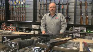 Calgary gun store owner takes federal government to court over gun ban